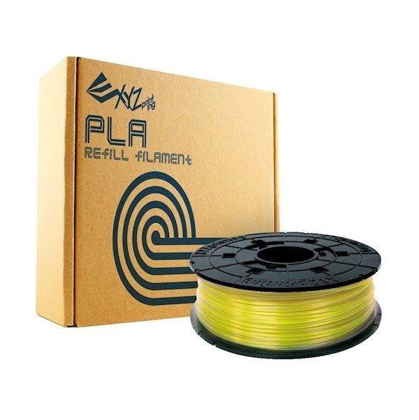 Катушка с нитью XYZprinting 1.75мм/0.6кг PLA Filament Прозрачный Желтый фото