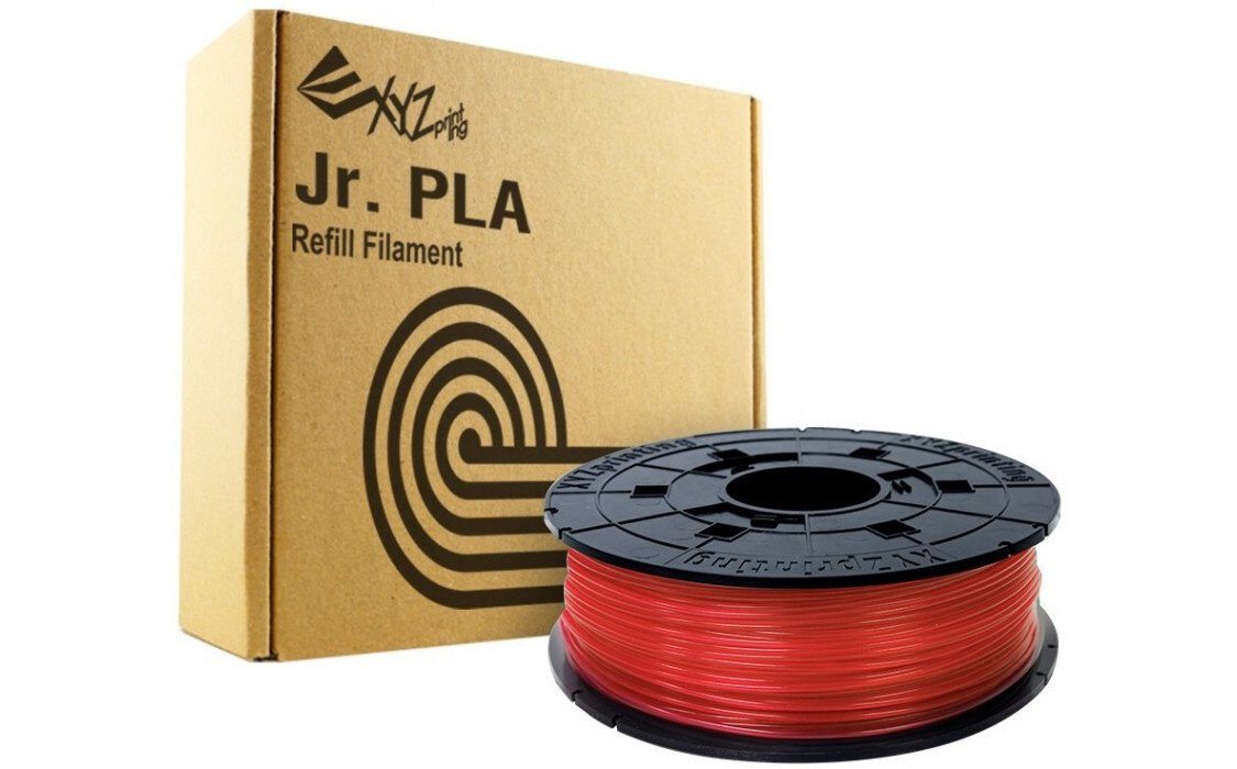 Картридж с нитью XYZprinting 1.75мм/0.6кг PLA(NFC) Filament Прозрачный Красный фото