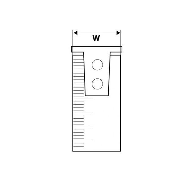 Рулетка измерительная TOPEX с магнитом 5м 27C345 фото 2