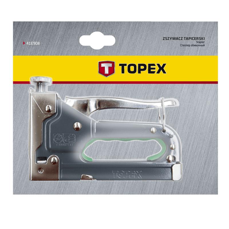 Степлер механический TOPEX 41E908 фото 2