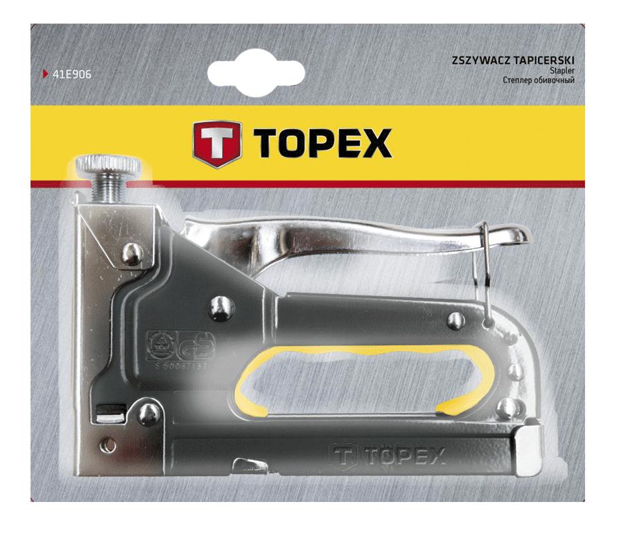 Степлер механический TOPEX 41E905 фото