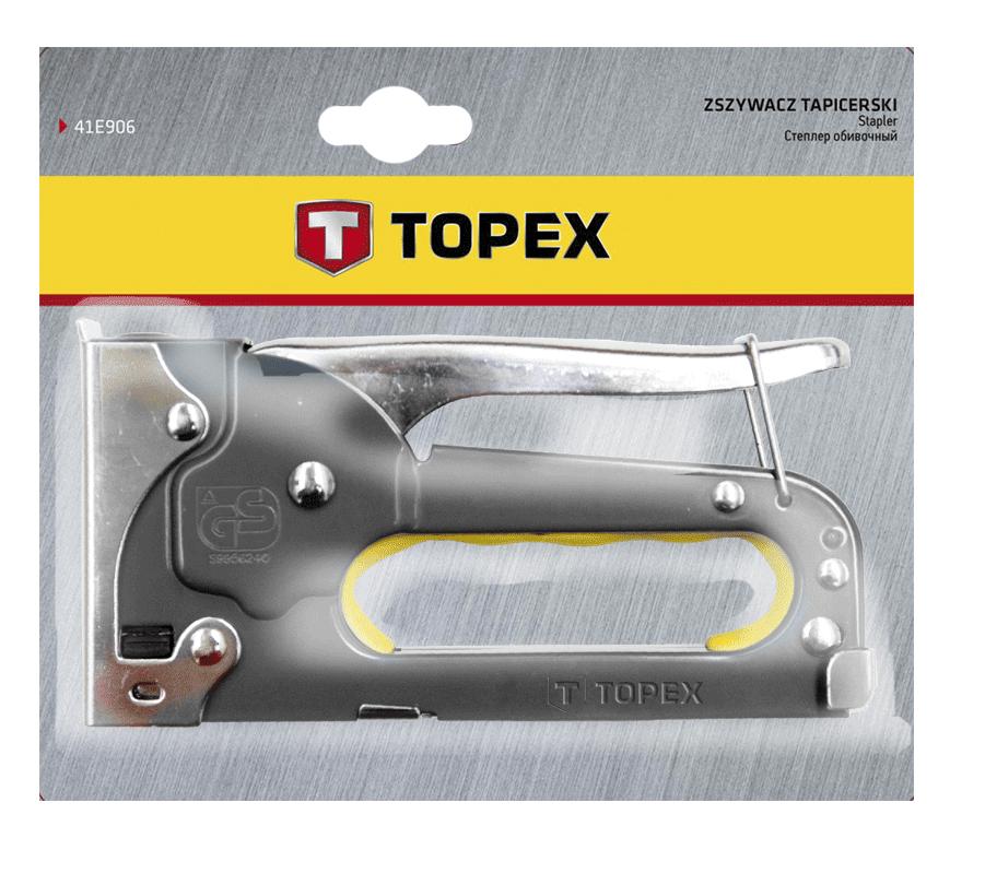 Степлер механический TOPEX 41E903 фото
