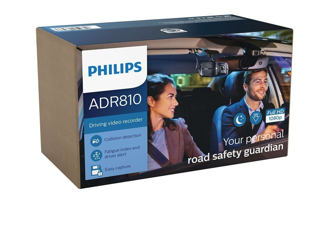 Видеорегистратор Philips ADR810 (ADR81BLX1) фото 3
