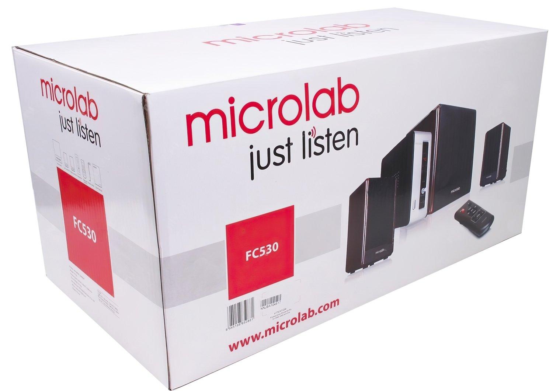 Акустична система 2.1 MICROLAB FC530 + зовнішній підсилювач (FC530) фото
