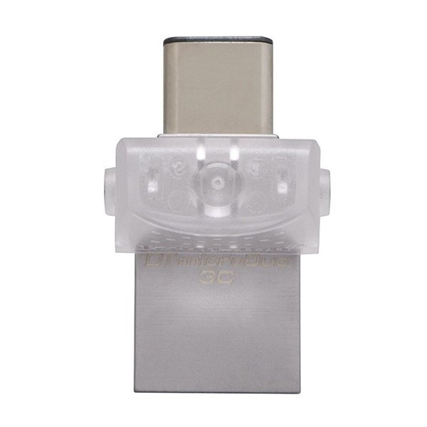 Накопичувач USB 3.1 KINGSTON DT MicroDuo 3C 128GB (DTDUO3C/128GB) фото2