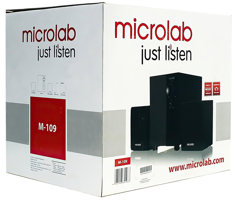 Акустична система 2.1 MICROLAB M-109 black (M-109) фото