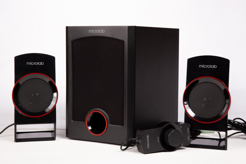 Акустична система 2.1 MICROLAB M-111 black (M-111-Black) фото
