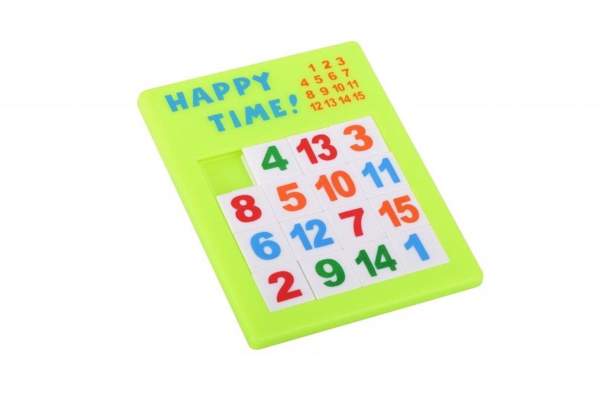 Настольная игра goki Пятнашки Зеленые (13186G-3) фото