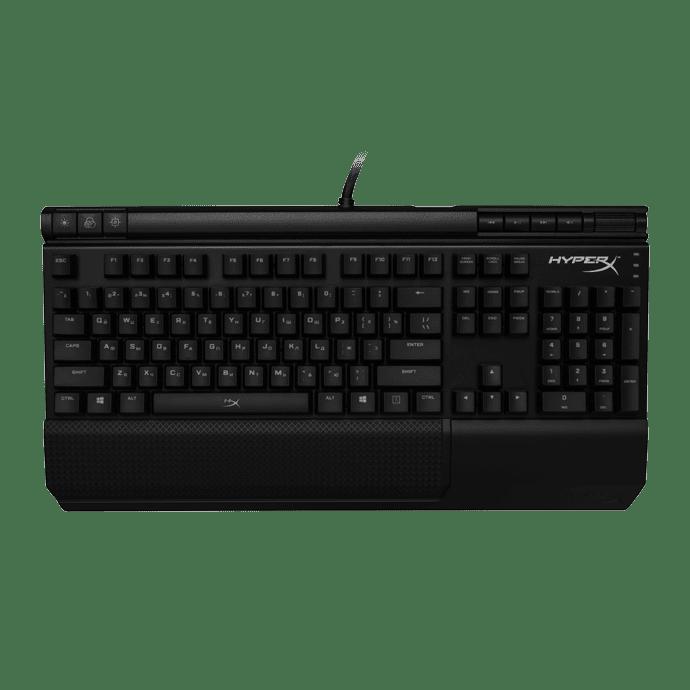 Игровая клавиатура HyperX Alloy Elite Single Color Cherry MX Blue USB Black (HX-KB2BL1-RU/R1) фото 2