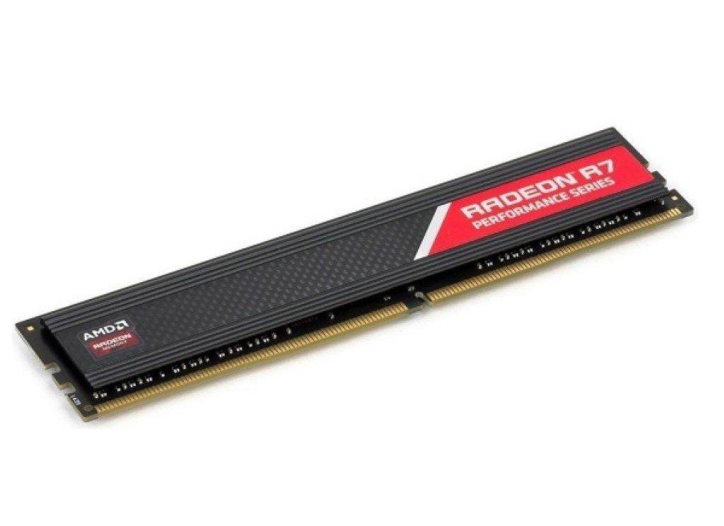 Пам'ять для ПК AMD 4GB DDR4 2400 MHz R7 Performance Series (R744G2400U1S-U)фото2