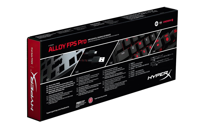 Ігрова клавіатура HyperX Alloy FPS Pro (HX-KB4RD1-RU/R1) фото6