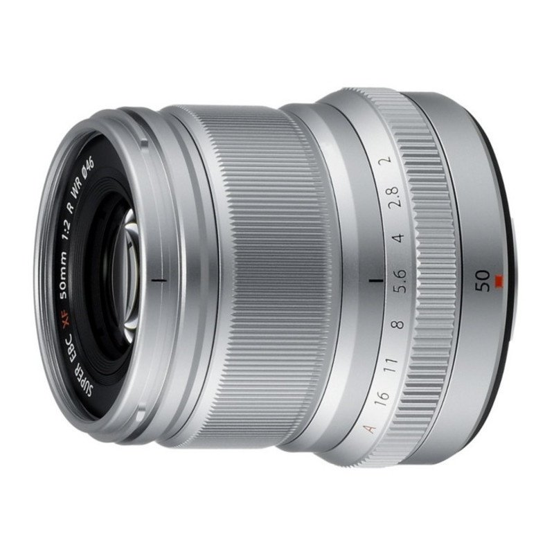 Объектив Fujifilm XF 50 mm f/2.0 R WR Silver (16536623) фото 3