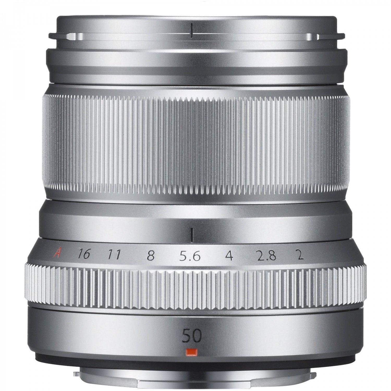 Объектив Fujifilm XF 50 mm f/2.0 R WR Silver (16536623) фото 2