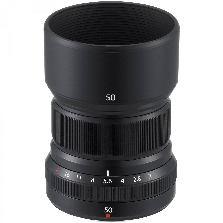 Объектив Fujifilm XF 50 mm f/2.0 R WR Black (16536611) фото 4