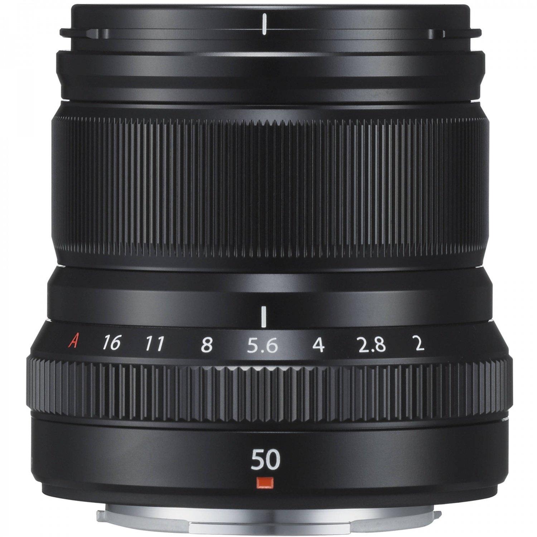 Объектив Fujifilm XF 50 mm f/2.0 R WR Black (16536611) фото 2