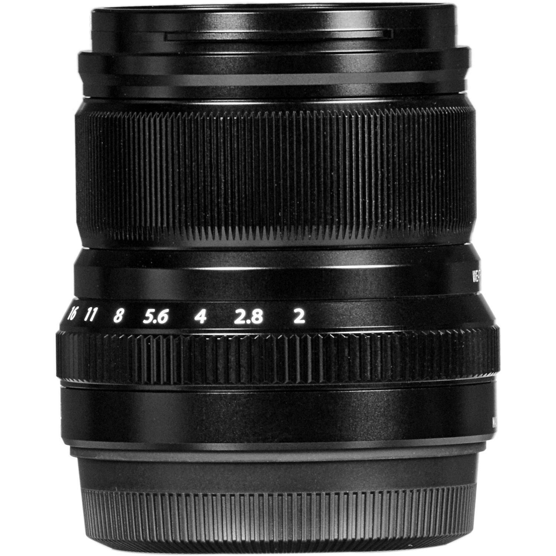 Объектив Fujifilm XF 50 mm f/2.0 R WR Black (16536611) фото 7