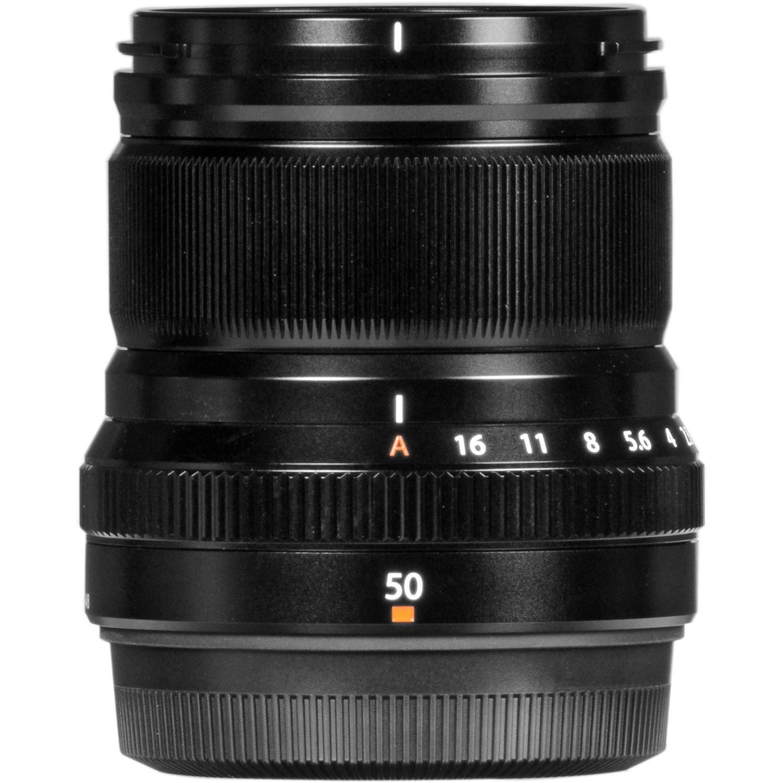 Объектив Fujifilm XF 50 mm f/2.0 R WR Black (16536611) фото 6