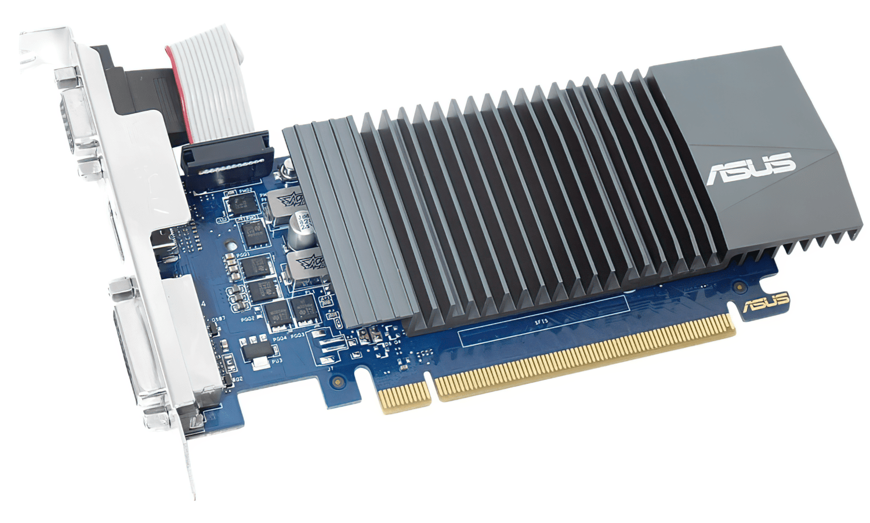 Відеокарта ASUS GeForce GT710 2GB DDR5 Silent (GT710-SL-2GD5-BRK) фото4