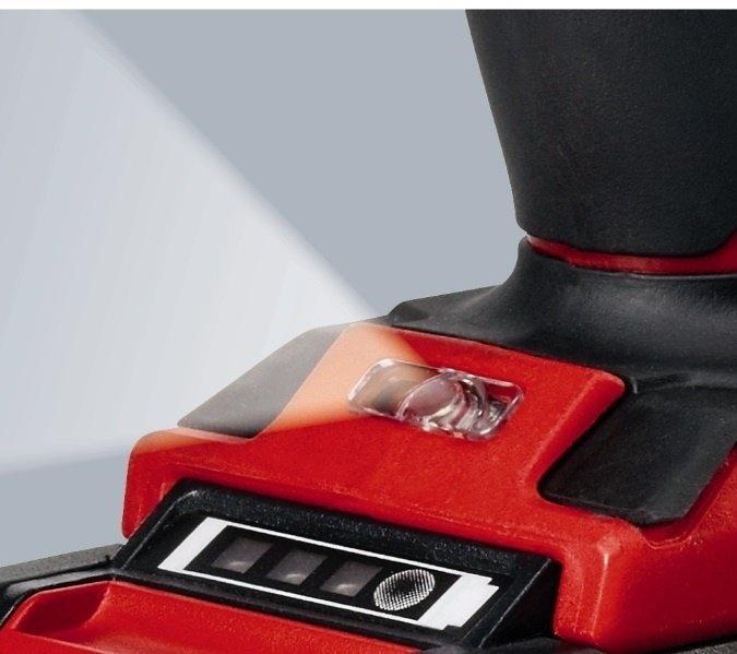 Акумуляторний ударний шуруповерт Einhell X-Change TE-CD 18 Li-i Brushless solo (без акумулятора і зарядного пристрою фото5
