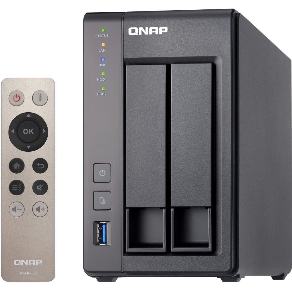 Сетевое хранилище QNAP TS-251+-2G фото 4