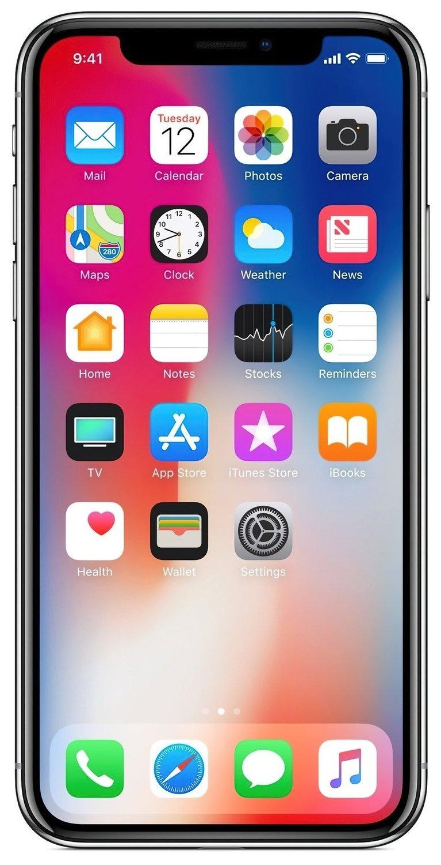 Смартфон Apple iPhone X 64GB (Space Gray) фото 4