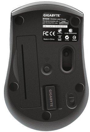 Миша Gigabyte M7800E WL Black (M7800E-BLACK) фото
