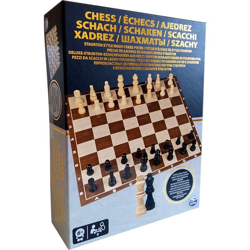 Настольная игра Spin Master Шахматы деревянные фигуры (SM98367/6033313) фото 2