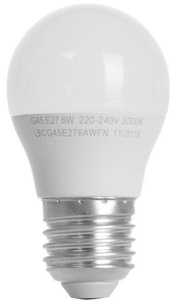Светодиодная лампа ERGO Basic G45 E27 6W 220V 3000K (LBCG45E276AWFN0 фото 2