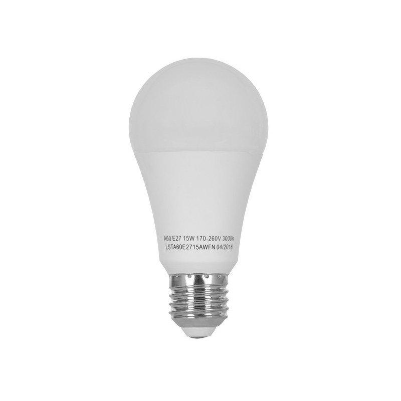 Светодиодная лампа ERGO Standard A60 E27 15W 220V 3000K (LSTA60E2715AWFN) фото 2