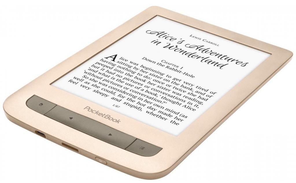Електронна книга PocketBook 626 Touch Lux 3 Matte Gold фото3