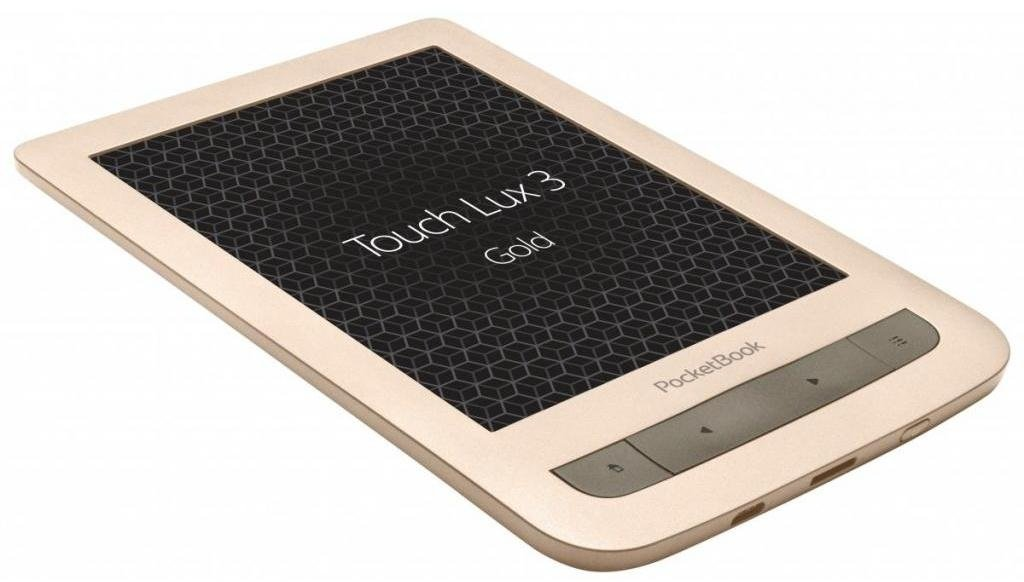 Електронна книга PocketBook 626 Touch Lux 3 Matte Gold фото4
