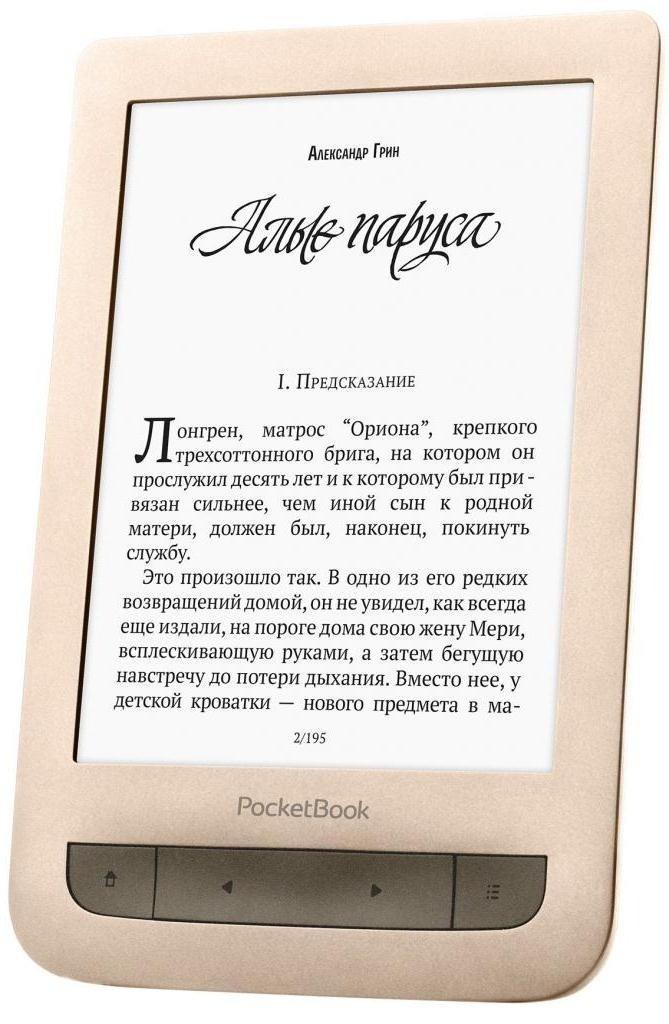Електронна книга PocketBook 626 Touch Lux 3 Matte Gold фото6