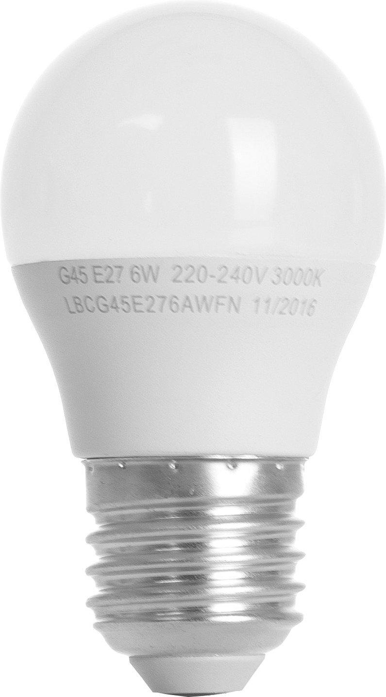 Светодиодная лампа ERGO Basic G45 E27 6W 220V 4100K (LBCG45E276ANFN) фото 2