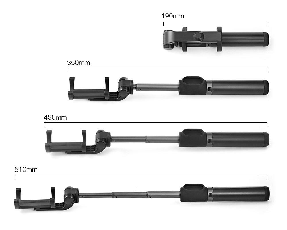 Монопод для смартфона Xiaomi Mi Selfie Stick Tripod Black фото4