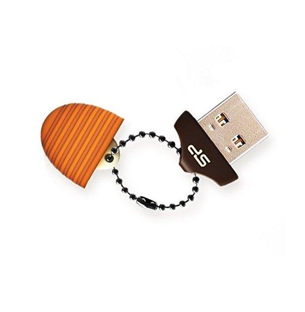 Накопитель USB 2.0 SILICON POWER Touch T30 8GB Huzelnut (SP008GBUF2T30V1E) фото