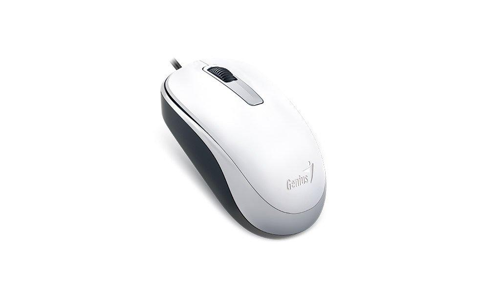 Миша Genius DX-125 USB White фото