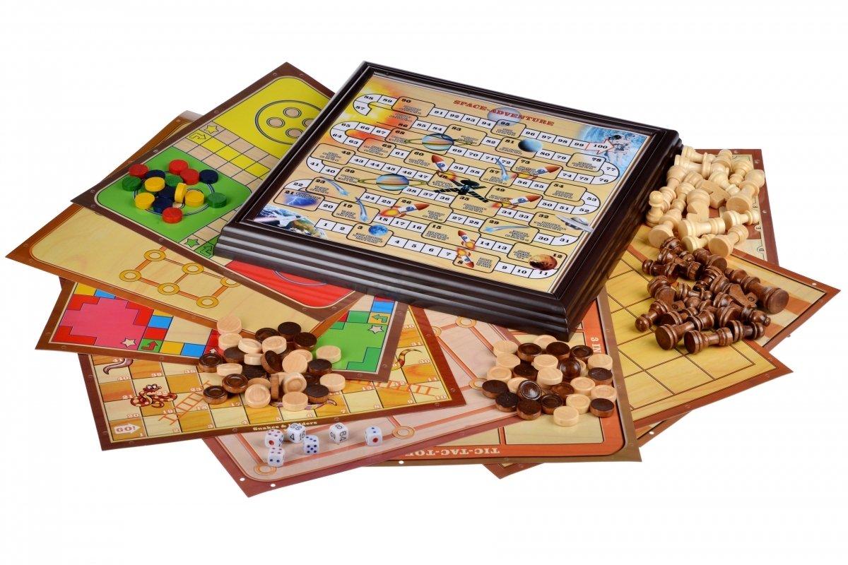 Настільна гра Same Toy Шахи 12в1 (522Ut) фото2