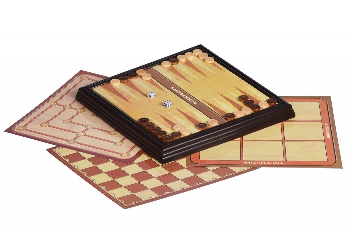 Настольная игра Same Toy Шахматы 5в1 (520Ut) фото 3