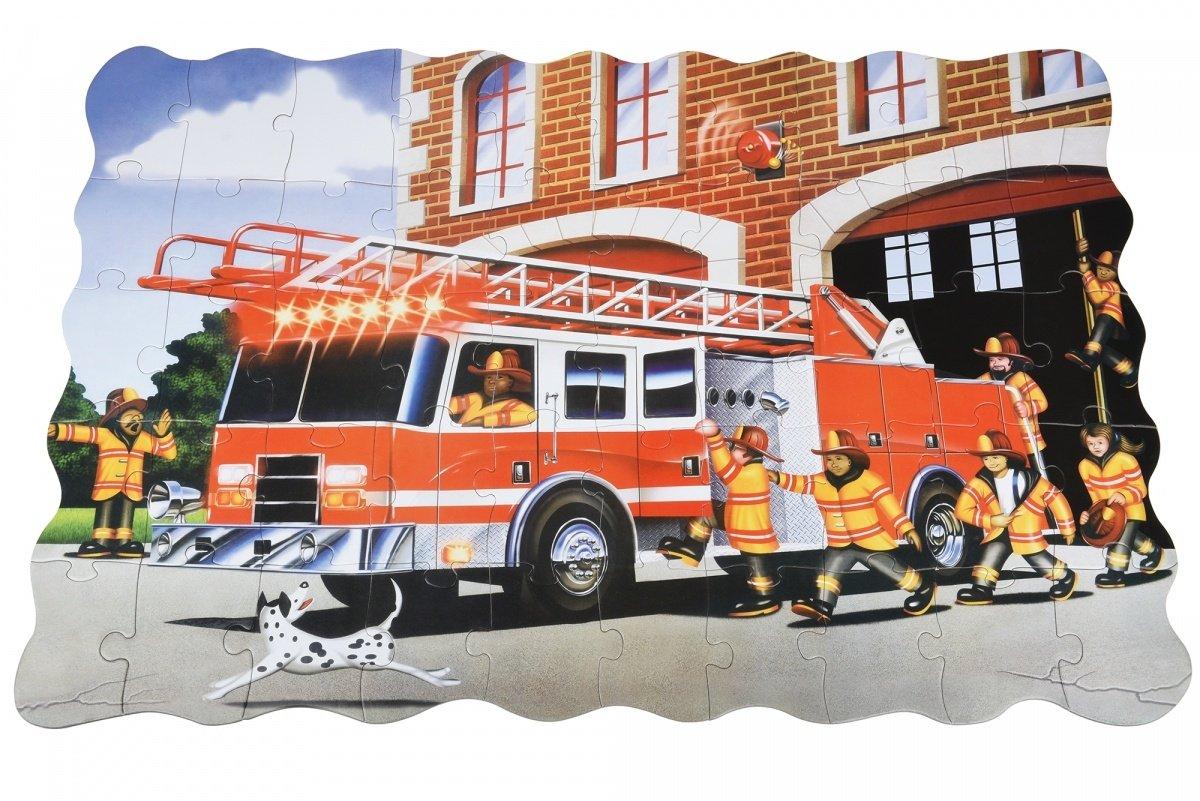 Пазл-раскраска Same Toy Пожарная машина (2038Ut) – купить ...