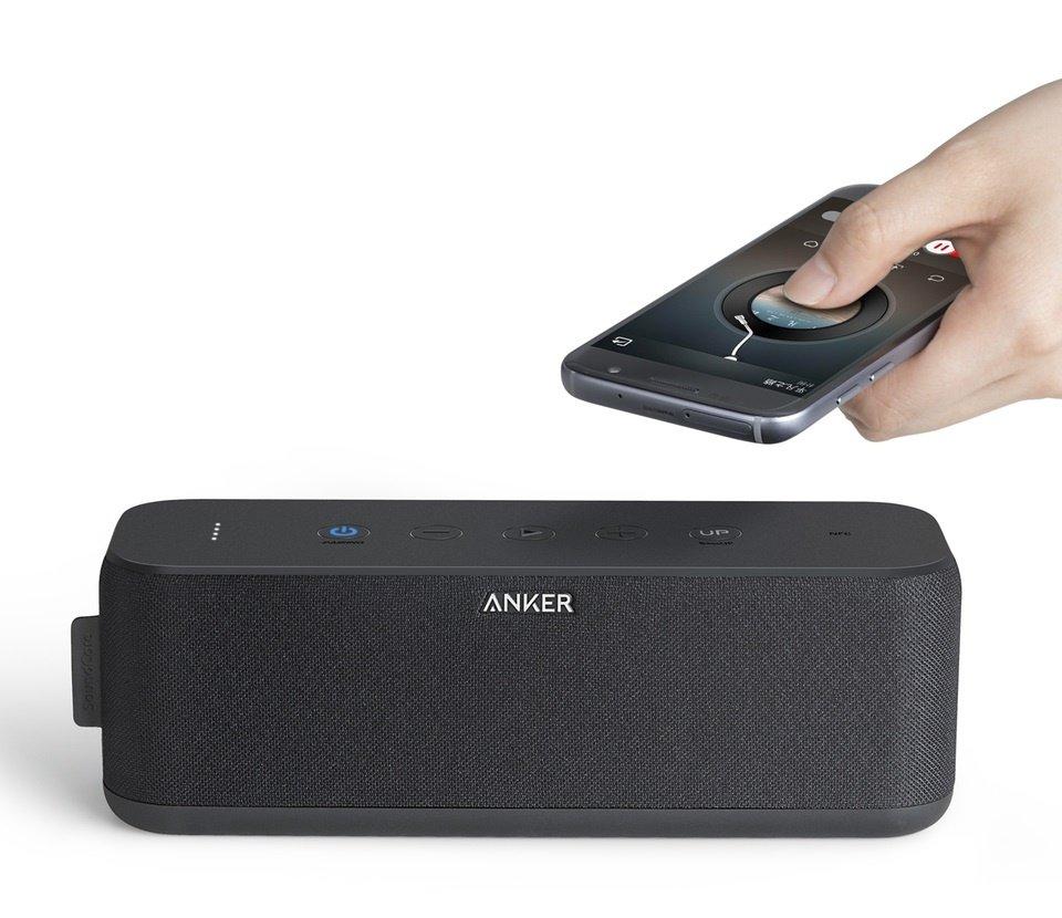 Портативная акустика Anker SoundCore Boost 20W Black фото 2