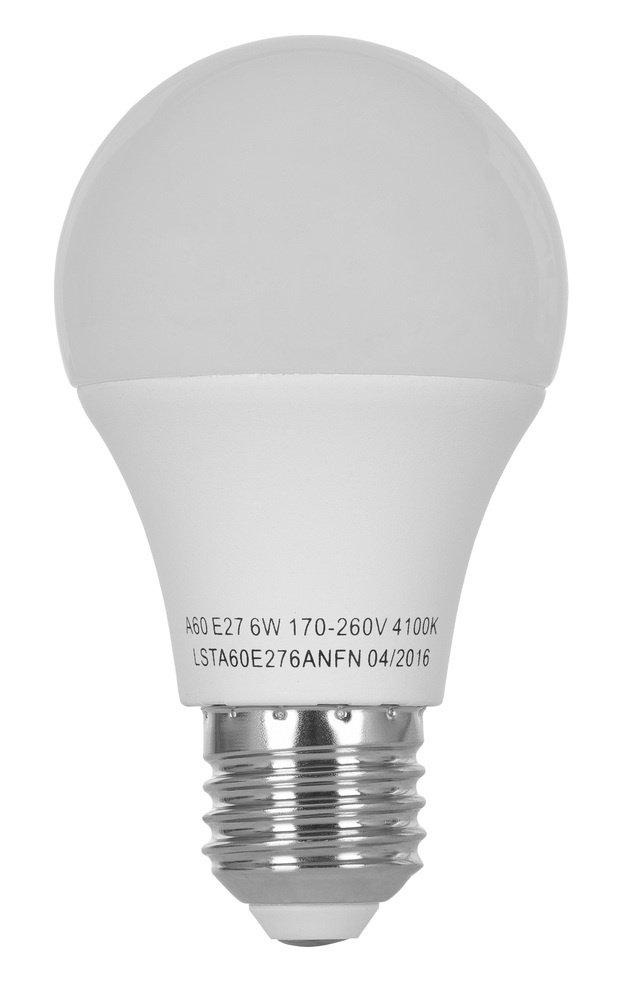 Светодиодная лампа ERGO Standard A60 E27 6W 220V 4100K (LSTA60E276ANFN) фото 2