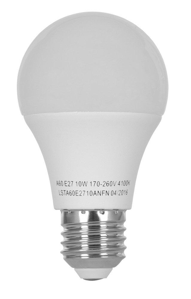 Светодиодная лампа ERGO Standard A60 E27 10W 220V 4100K (LSTA60E2710ANFN) фото 2