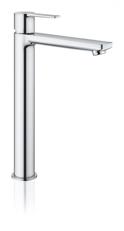 Високий кран для умивальника GROHE LINEARE NEW 23405001 фото2