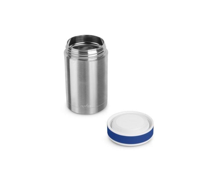 Термос металический для еды Nuvita 500 мл. Нерж. с термосумкой (NV1474) фото 2