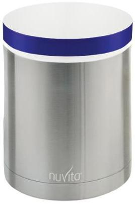 Термос металический для еды Nuvita 1000мл., 2 контейнера, Нерж. (NV1478Pro) фото 2
