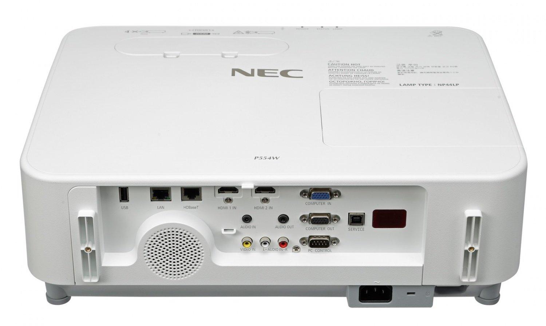 Проектор NEC P554W (3LCD, WXGA, 5500 Lm) (60004330) фото