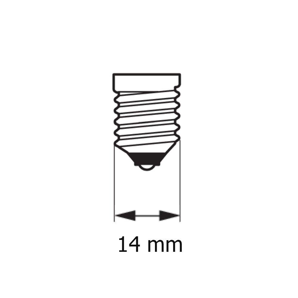 Лампа накаливания Philips E14 60W 230V BW35 FR 1CT/4X5F Deco (921502144242) фото 3