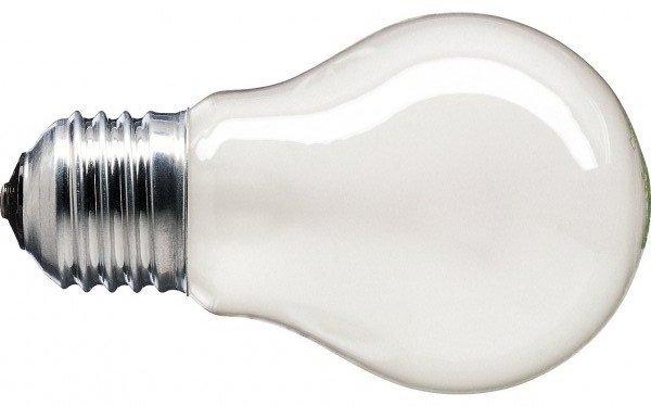 Лампа накаливания Philips E27 60W 230V A55 FR 1CT/12X10 Stan (926000007385) фото 2