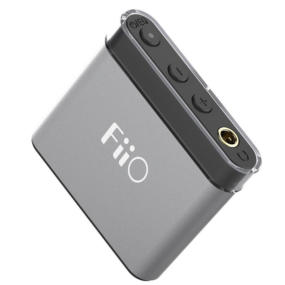 Підсилювач для навушників FiiO A1 Titanium-Black фото3