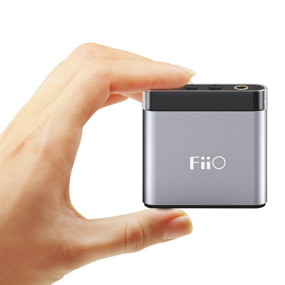Підсилювач для навушників FiiO A1 Titanium-Black фото5